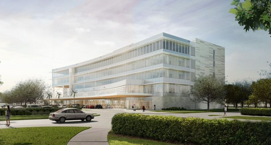"""A South Florida's $20 million gift to the Mayo Clinic in Jacksonville will help pay for a new """"destination medical building."""""""