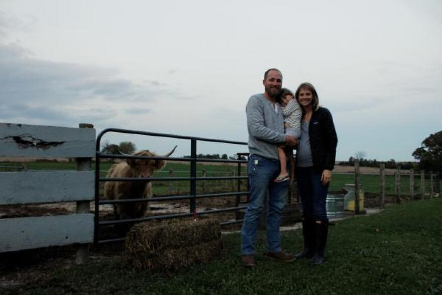 The Snare family found land in Wisconsin to start their career as farmers.