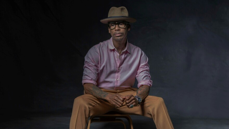 """""""I feel like people are not educated at a young age to know like, 'OK, you have a choice to go behind bars and become a number and for somebody to profit off you for free labor and it's enslaving your brain,"""" Raphael Saadiq says."""