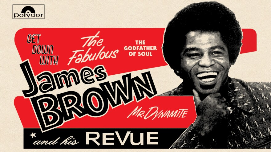 The latest release of James Brown's music, <em>Get Down with James Brown: Live at the Apollo Vol 4,</em> was recorded in 1972 — and finally released this year.