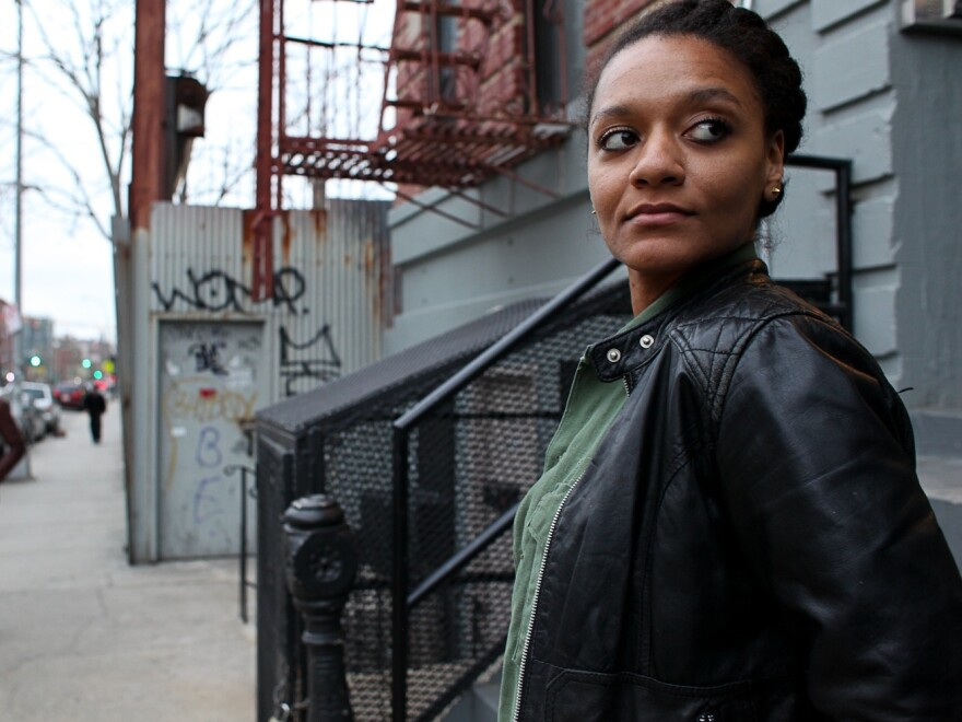 New York artist Tatayana Fazlalizadeh, 27, says she couldn't take the daily cat calls from men on the street.