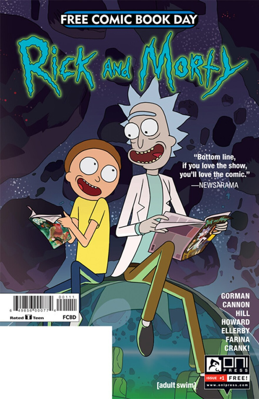 <em>Rick and Morty</em>