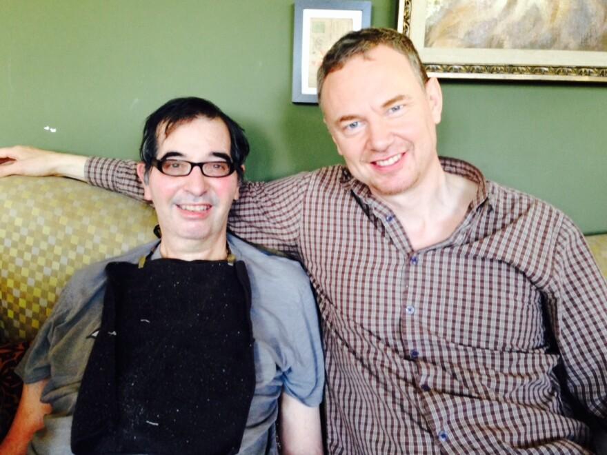 <em>Still Alice</em> directors Richard Glatzer (left) and Wash Westmoreland have been together since 1995.