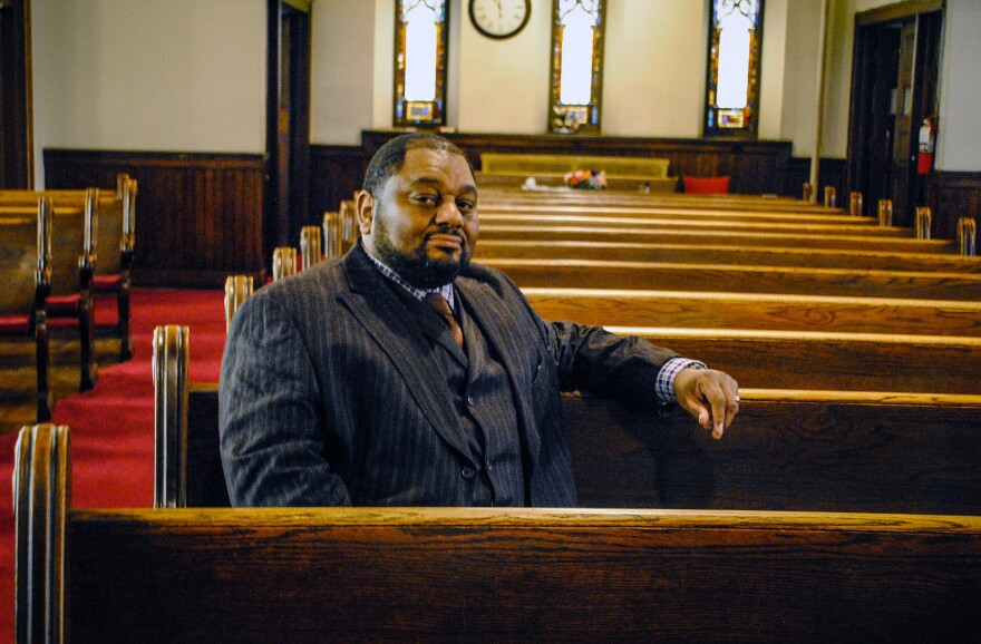 """Younger people have seen or feel like their parents and their grandparents didn't get the best medical treatment when they went to the hospital,"" says Derrick DeWitt, pastor of First Mount Calvary Baptist Church in Baltimore's Sandtown-Winchester neighborhood. ""So they have this why-go attitude."""