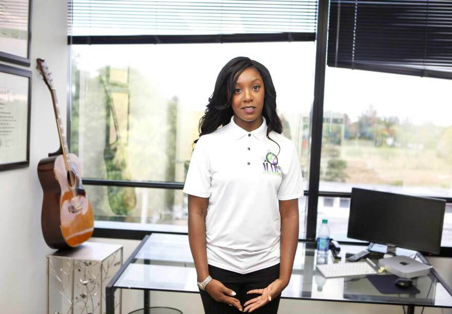 Myya Passmore, a Miami entrepreneur and CEO of M.A.R.S. Marketing firm, was 16 when she was shot in the chest.