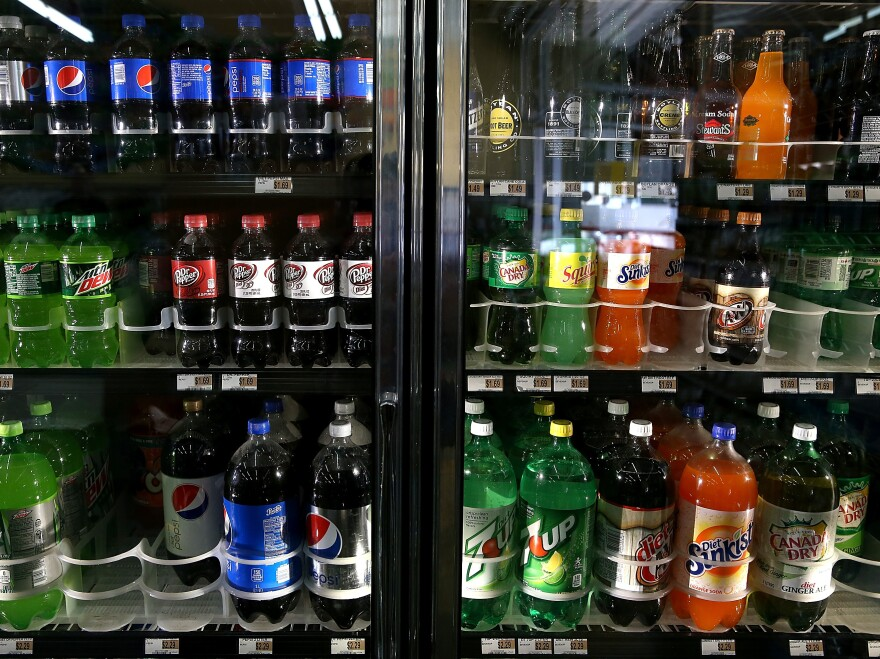Would you think twice about that 20-ounce soda if you were informed that it would take 5 miles of walking — or 50 minutes of running — to burn it off?