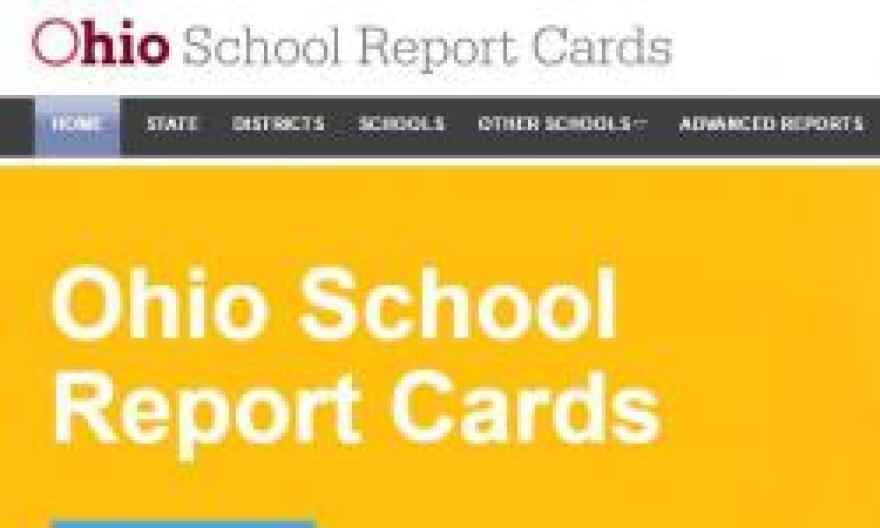photo of Ohio school report cards