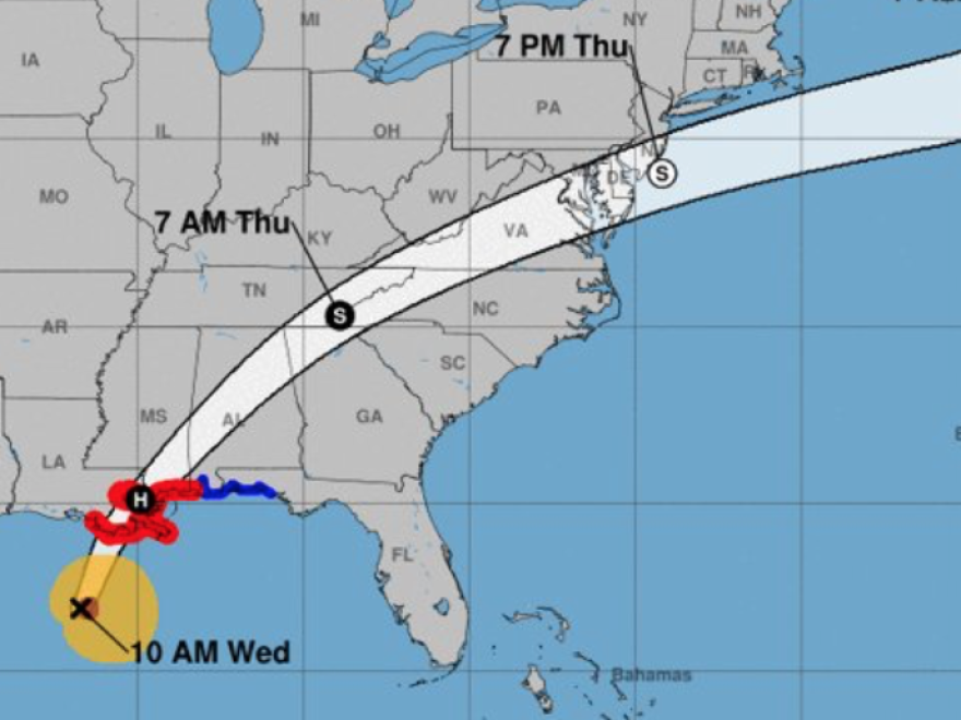 The U.S. Gulf Coast braces for impact as Hurricane Zeta approaches.