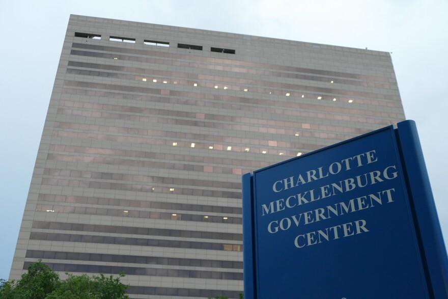 Charlotte-Mecklenburg Government Center.