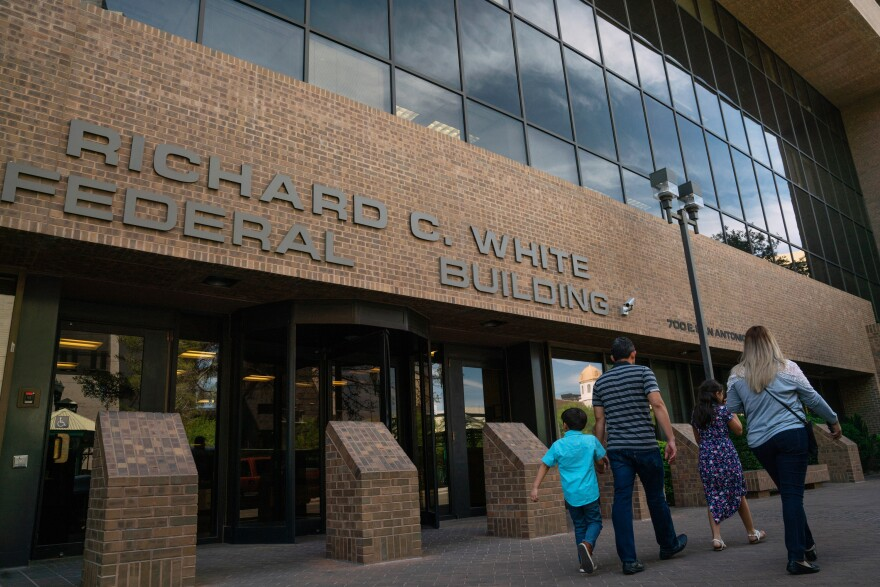 The Richard C. White Federal Building in El Paso, Texas, is where migrants with scheduled court hearings will appear before a judge. Attorneys trying to help migrant families have been frustrated by constantly changing rules regarding the Migrant Protection Protocols program.
