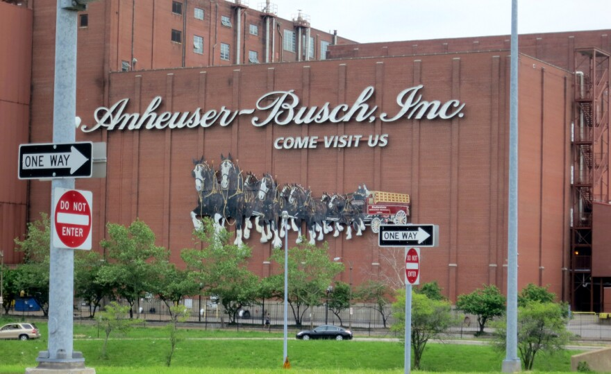 Anheuser-Busch, the brewer of Budweiser, still runs its North American operations out of St. Louis.