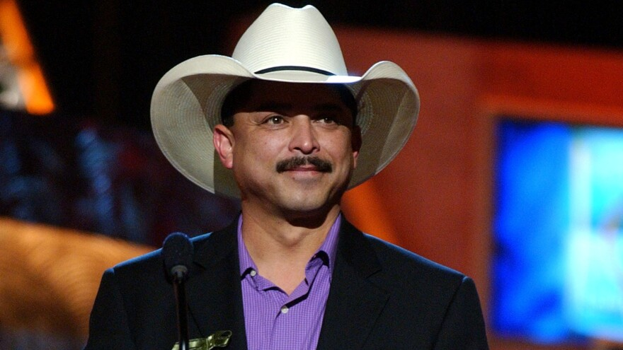 Emilio Navaira during the 4th Annual Latin Grammy Awards in Miami in 2003. The musician has died at the age of 53.