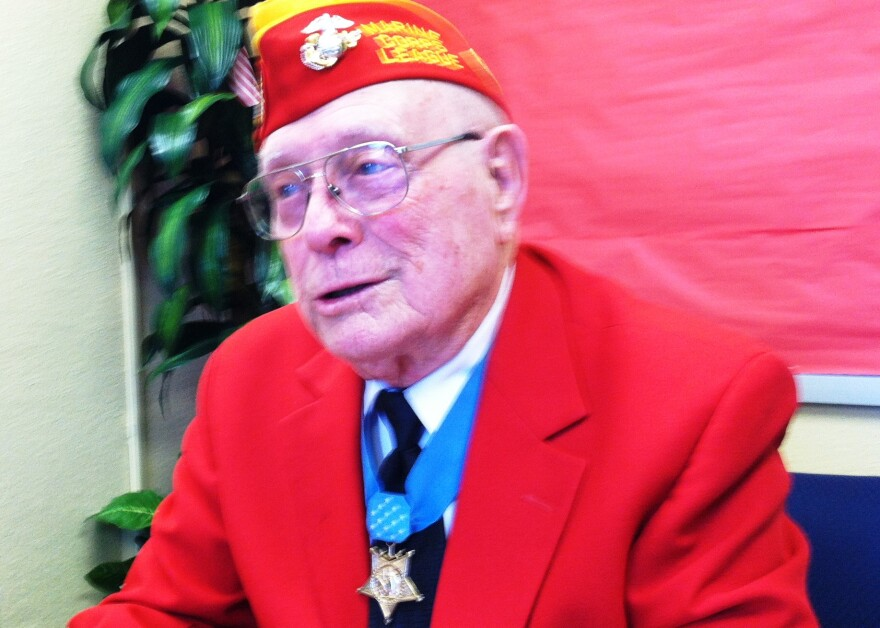 It was 69 years ago when Marine Corporal Hershel Williams single-handedly took out seven Japanese pillboxes on Iwo Jima - displaying valor that earned him the Medal of Honor.
