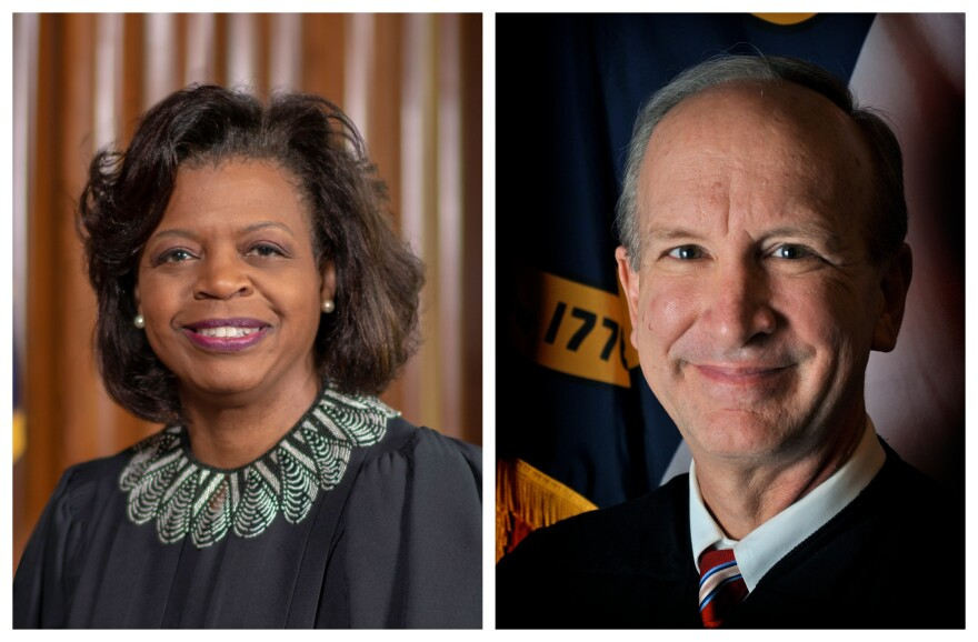 Cheri Beasley and Paul Newby both ran for Chief Justice of the North Carolina Supreme Court this year.