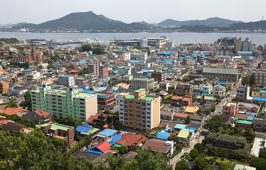 Mokpo is a vibrant trade port city on the southwestern tip of the Korean peninsula.