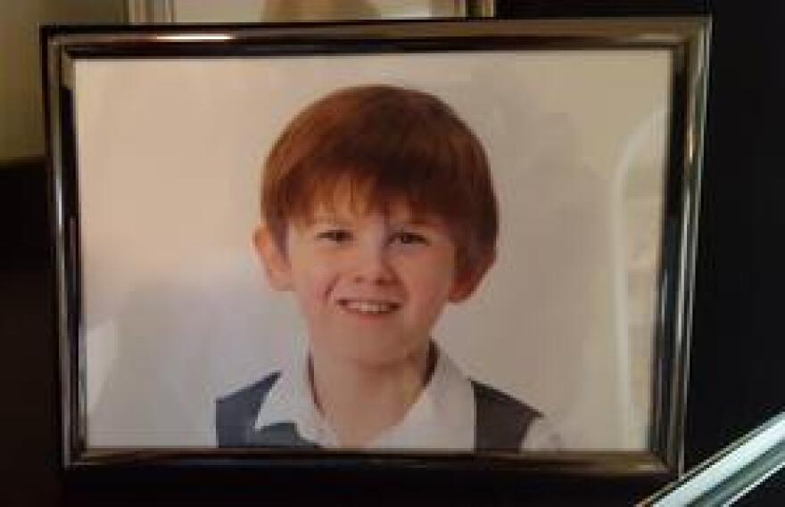 Josh, Bodenger's nine year old autistic son.