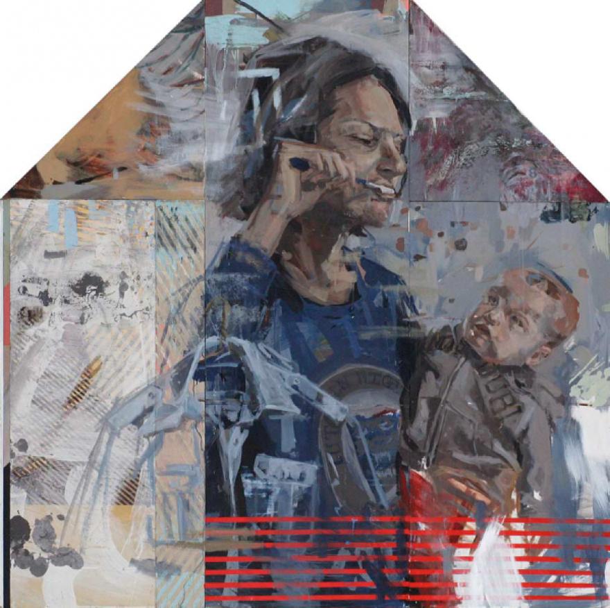 Photo of David Dolak artwork
