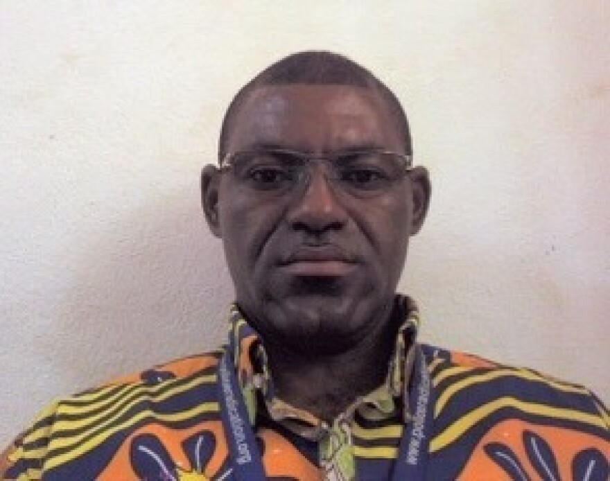 Dr. Richard Valery Mouzoko Kiboung of Cameroon was killed on Friday in an attack on an Ebola response command center in Democratic Republic of the Congo.