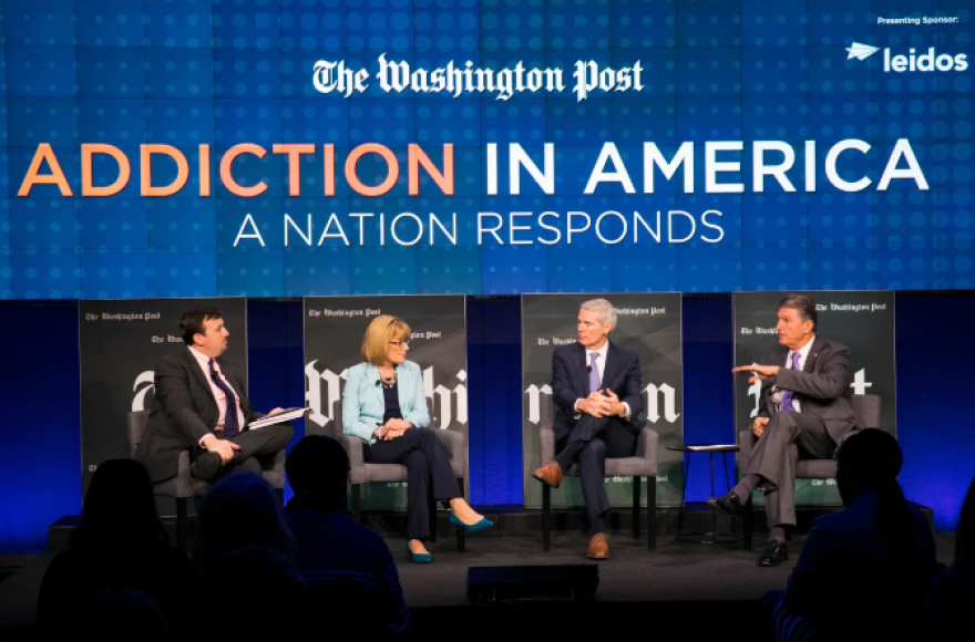 photo of Washington Post conversation