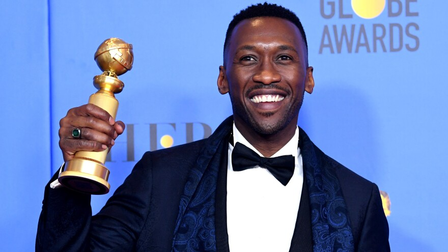 Mahershala Ali won a Golden Globe Sunday night for his performance in <em>Green Book</em>.