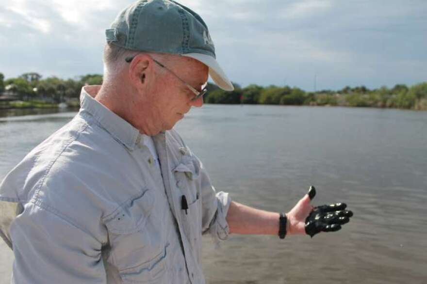 John Trefry has studied the Indian River Lagoon's muck for 30 years.