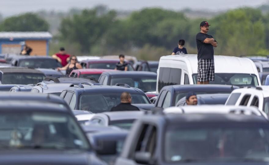 COVID-19:经济:食品销售在得克萨斯州