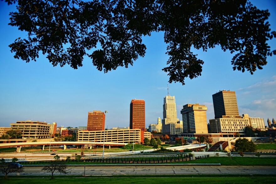 photo of Downtown Akron