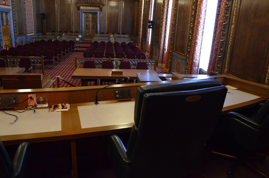 photo of Supreme Court bench