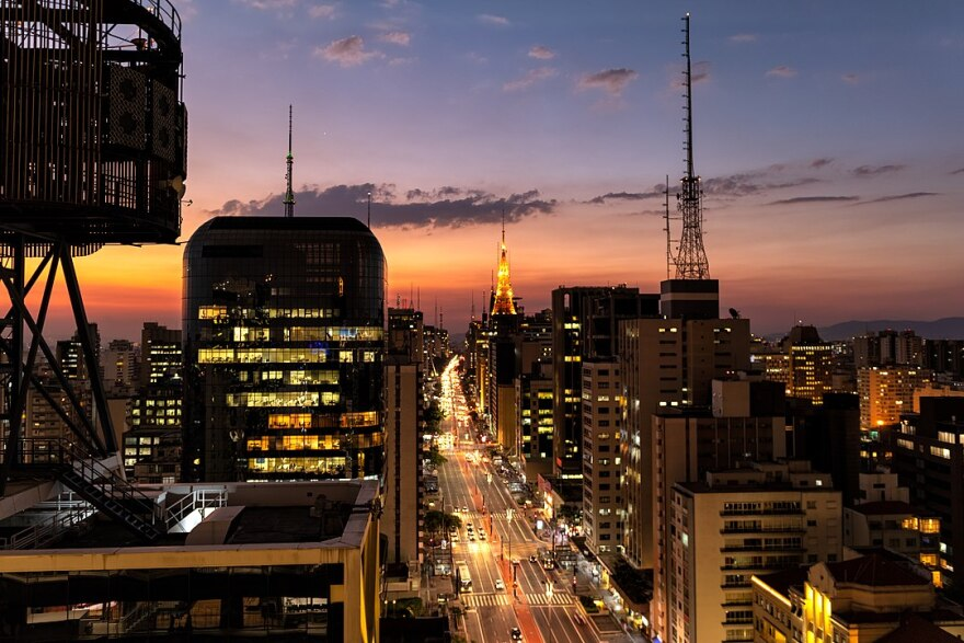 São Paulo, Brazil skyline