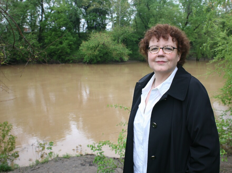 Julia Keller says riverbanks are the perfect crime scenes. Her third volume in her Bell Elkins series, <em>Summer of the Dead</em>, will be released in August.