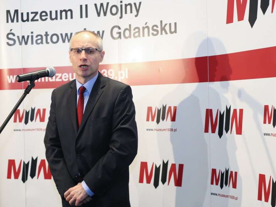"""""""This is the museum which tells the story of a war in terms of politics, ideology and civil population,"""" says museum director Pawel Machcewicz."""