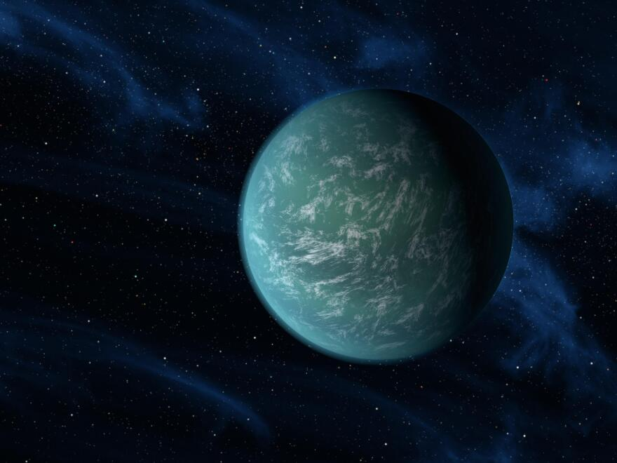 Kepler-22b, the discovery of which was announced in December 2011, is one of many planets that bear the space telescope's name.