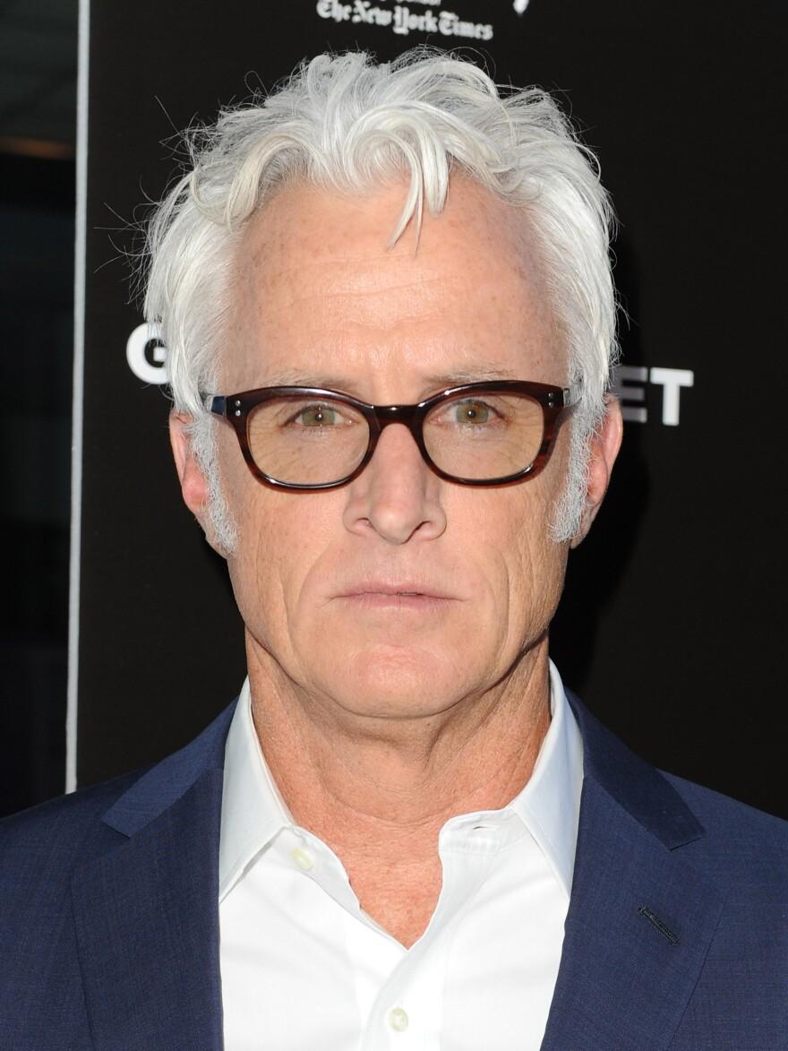 John Slattery, seen here at a Los Angeles premier, makes his directorial debut with <em>God's Pocket.</em>