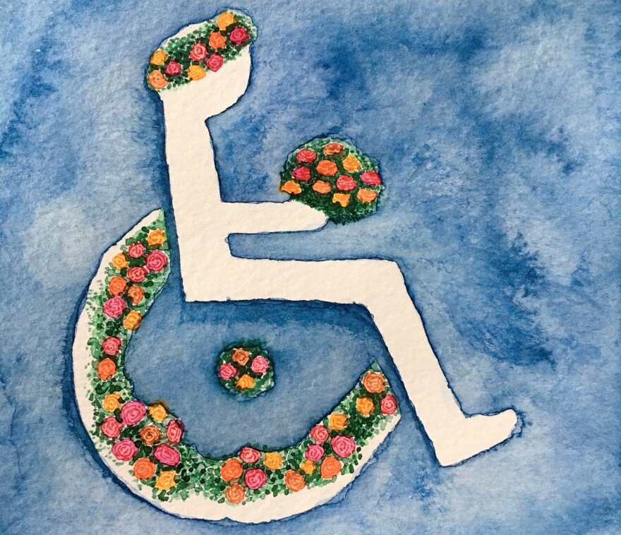 """I have had a disability since birth. The ADA was signed when I was 3 years old. I could not have blossomed without it,"" Elizabeth Secor of Denver writes to NPR."