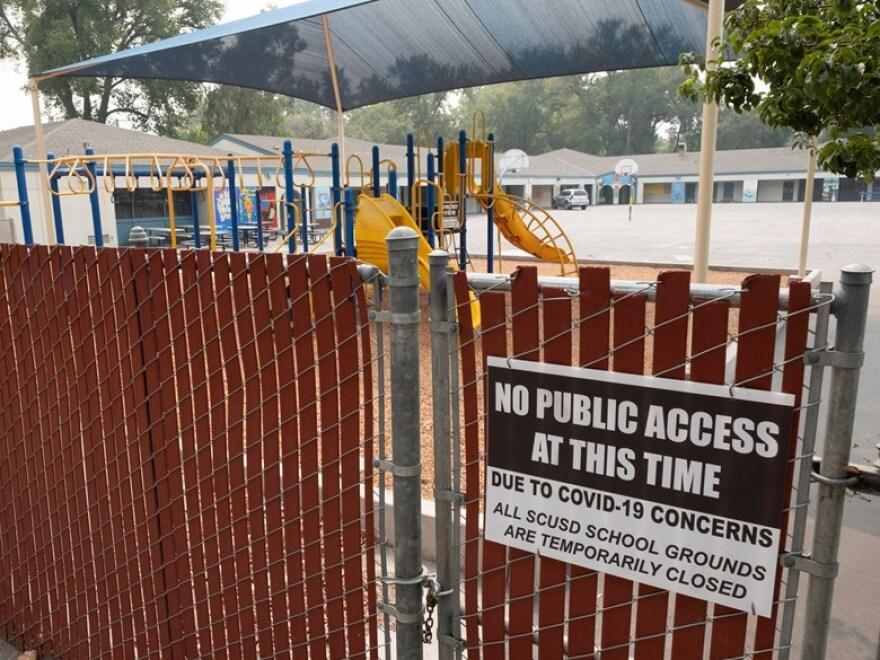 Closed pool covid Nixon Capradio.jpg