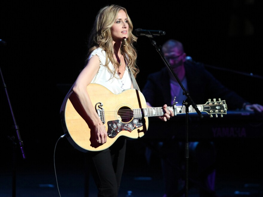 """Chely Wright performs at the """"Reading, Writing, Rhythm"""" show in Nashville, Tenn."""