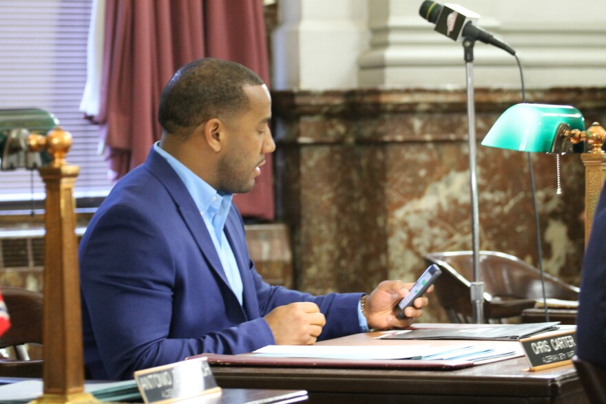 """Alderman Chris Carter, D-27th Ward, has doubts that Slay is going to """"vigorously defend"""" the ordinance."""