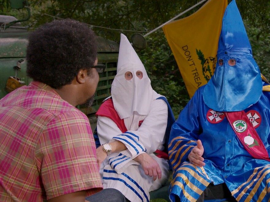 For <em>United Shades Of America,</em> W. Kamau Bell visited a Ku Klux Klan gathering.