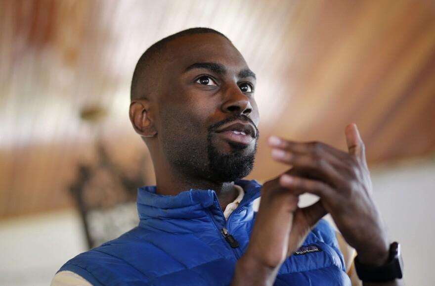 Black Lives Matter activist DeRay Mckesson. (Patrick Semansky/AP)