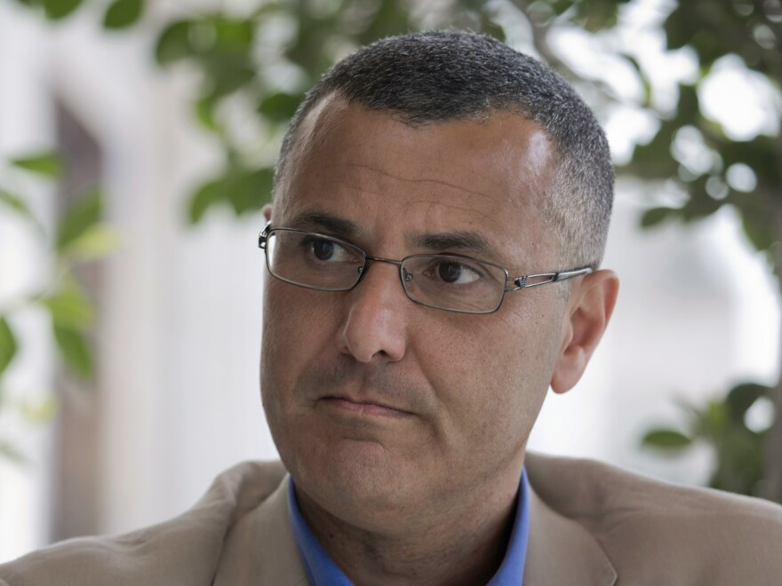 A Qatari-born Palestinian, Omar Barghouti (shown in 2016) is a leader of the international boycott, divestment and sanctions movement against Israel known as BDS.