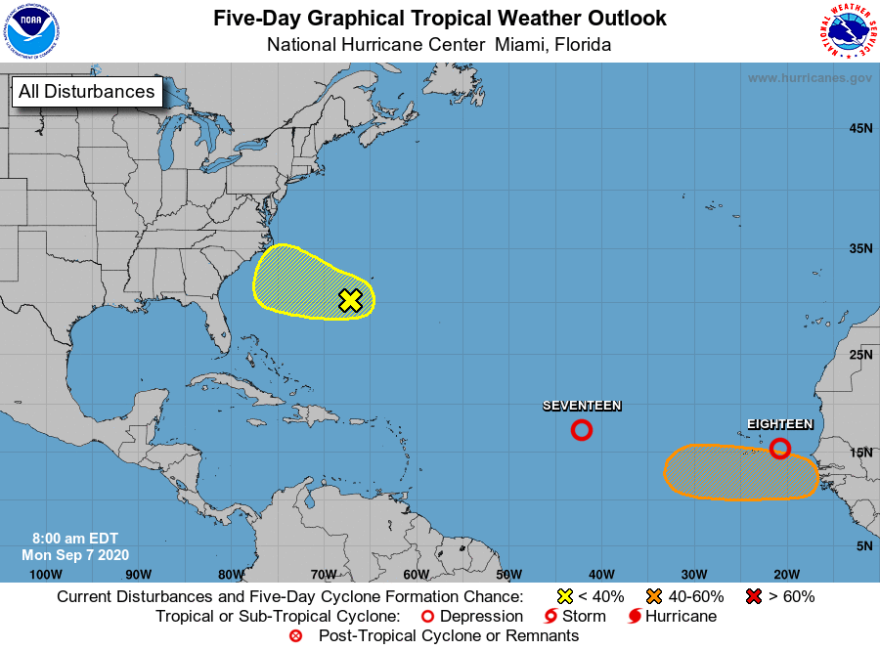 9-7-20 Tropical depressions