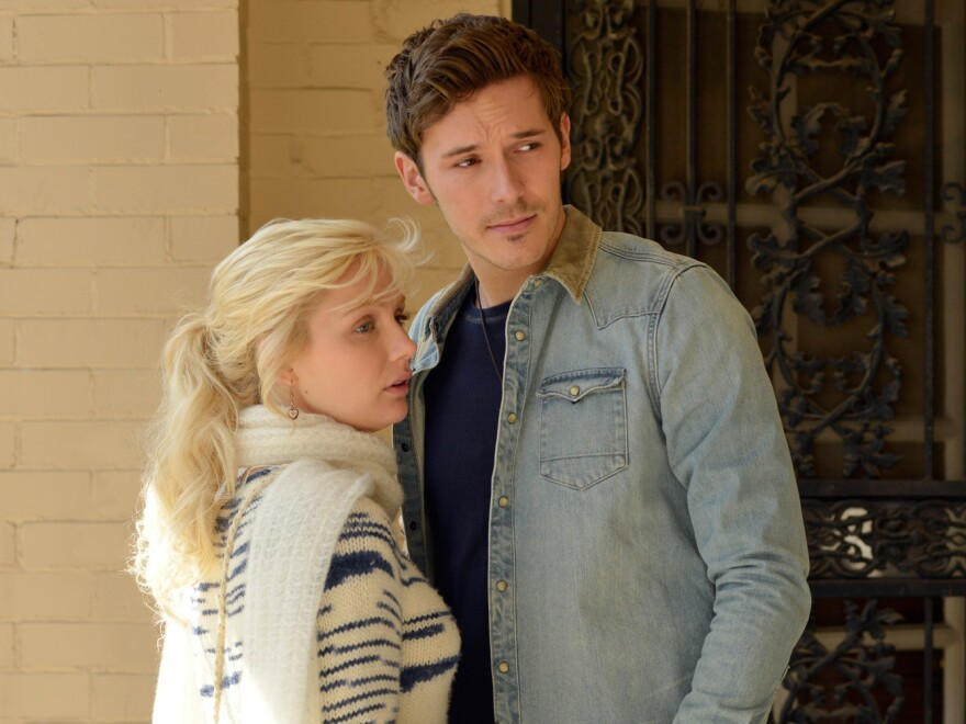 """Characters Scarlett O'Connor and Gunnar Scott are young, unknown artists in <em>Nashville,</em> just like the songwriters behind their song, """"When the Right One Comes Along."""""""