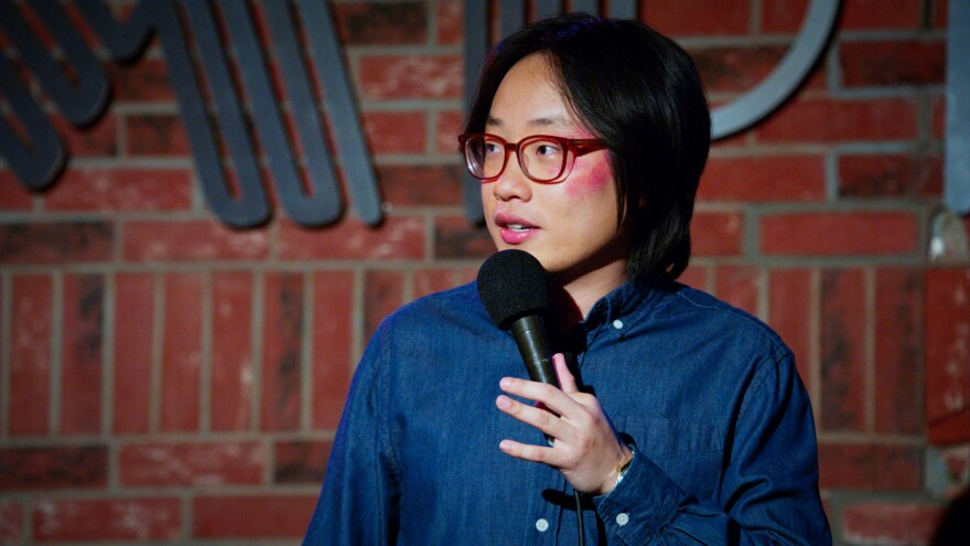 """Jimmy O. Yang as Will O'Brien in """"The Opening Act."""" (Photo courtesy of RLJE Films.)"""