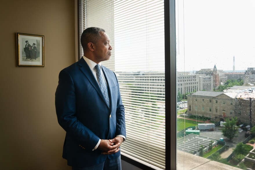 Karl Racine, attorney general of the District of Columbia, launched the juvenile restorative justice program. He believes the concept promotes public safety.