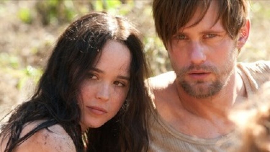 In <em>The East</em>, Ellen Page (left) and Alexander Skarsgard play members of an anarchist eco-terrorist collective.
