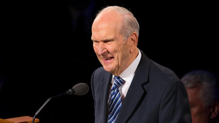 Russell M. Nelson, speaking at a funeral last October, has been named leader of The Church of Jesus Christ of Latter-day Saints.