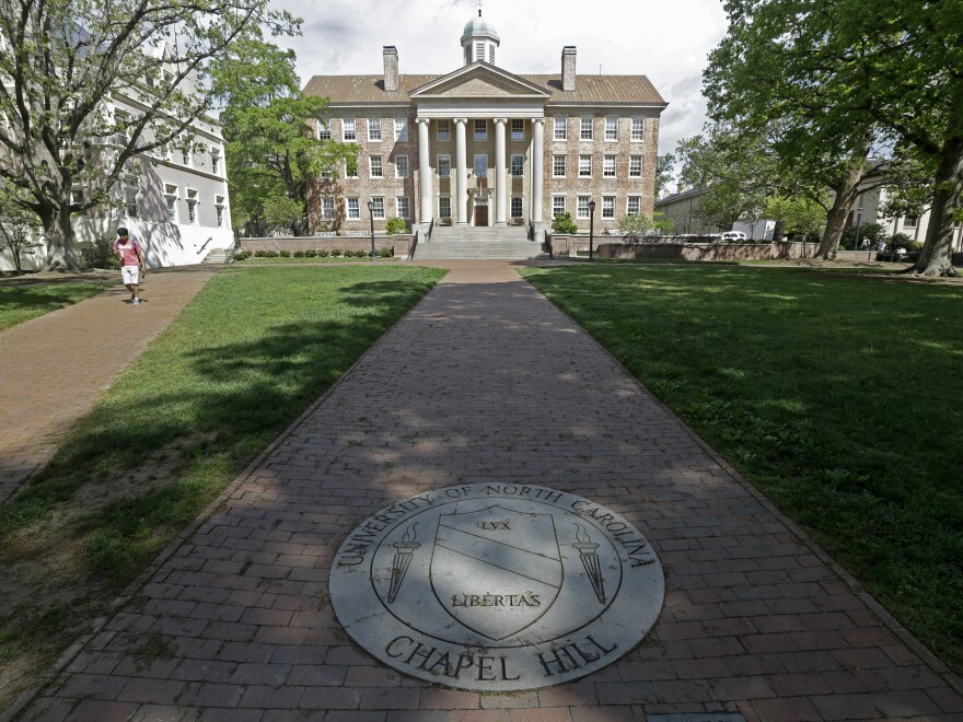 The Board of Trustees at the University of North Carolina at Chapel Hill voted to lift a moratorium on renaming campus buildings and memorials. About 30 campus buildings are thought to have namesakes with ties to white supremacy or slavery.