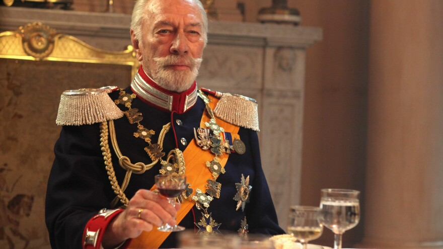 Christopher Plummer as the exiled Kaiser Wilhelm II in <em>The Exception</em> — a man with the outward trappings of power, who hasn't made a real decision in decades.