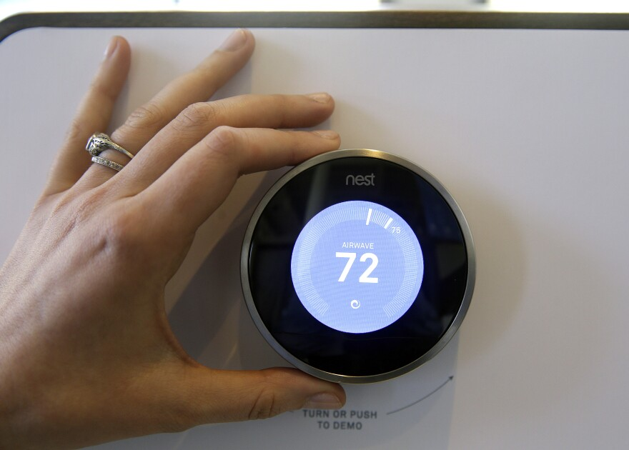 The Nest Learning Thermostat (Eric Risberg/AP)