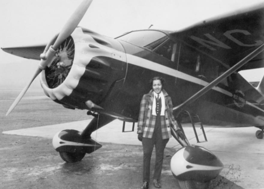 Aviator Rose Agnes Rolls Cousins